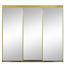 bathroom Appealing Mirror Sliding Closet Doors Hardware Lowes Diy