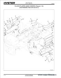 hyster forklift wiring diagram wiring diagram and schematic design toyota electric forklift trucks 7fbmf16 50 service manual