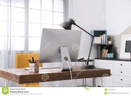 comfortable home office. Royalty-Free Stock Photo Comfortable Home Office O