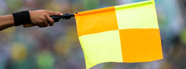 Image result for football referee flag