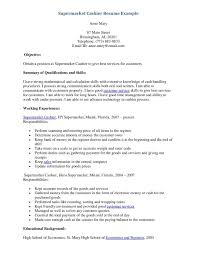 Resume For Cashier Examples Sample Resume Cashier Cashier Sample Resume Targergolden Dragonco 12