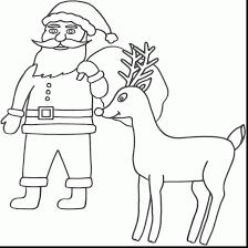 santa claus hat coloring page | alphabrainsz.net