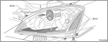 nissan altima headlight wiring diagram  watch more like 2006 nissan altima headlight bulb replacement on 2003 nissan altima headlight wiring diagram