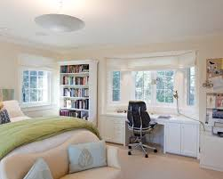 fascinating traditional bedroom with comely built in desk built bookcase desk ideas