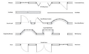 stunning how to draw sliding doors in plan ideas baxters