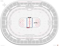 Colorado Avalanche Seating Chart With Seat Numbers Keybank Center Seating Chart Seat Numbers