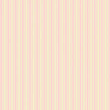 Roze En Creme Kleur En Gele Streepjes Papier Gestreept Behang