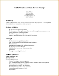 5 Experienced Dental Hygienist Resume Financial Statement Form