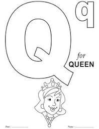 Small Picture Alphabet Coloring pages Letter Q Printables Pinterest