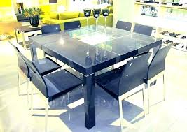 round table that expands to seat 12 modern oval sion dining table seats danish kitchen enchanting