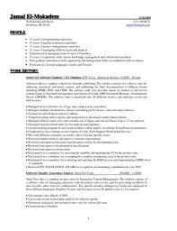 Quality Assurance Resume Examples pertaining to Software Qa Manager Resume
