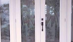 etched glass door projects the glass