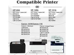 Seleccione el contenido de asistencia. 5 Pk Crg 131 Toner Cartridge Set For Canon Imageclass Lbp7110cn Mf8230cn Mf624cw Newegg Com