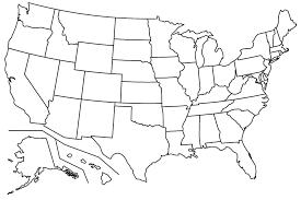 Blank United States Map Printable Valid United States Map Printable