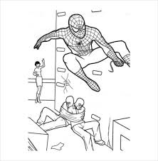 19 Spider Man Coloring Pages Pdf Psd Free Premium Templates