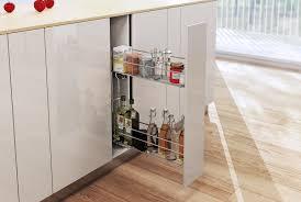 Pull Out Kitchen Storage Pull Out Soft Close Wire Basket Kitchen Storage Unit 150 200 Mm
