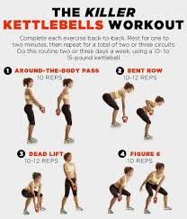 Printable Kettlebell Workout Chart 8 Kettlebell Workouts To Tone Muscles And Burn Fat