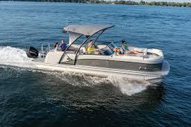 2020 Avalon 2585 Catalina Platinum El W Boating Magazine