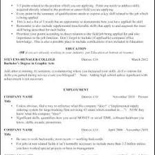Exercise Science Resume Examples Athletic Resume Template Free 47037618008 Exercise Science Resume