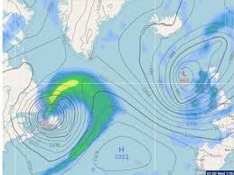 Atlantic Weather Charts Storm Callum Could Mark The Start Of Stormy Weather Week Met
