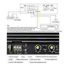 Kl 180 1200W Car Subwoofer Amplifier Board Audio Power Amplifier Module  Power Audio DIY Car Player 12V DC Car Audio System|Speaker Accessories
