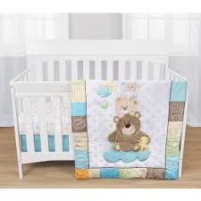 baby s first by nemcor 3 piece crib bedding set gingham parade com