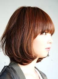 クラシカルマッシュボブ 彡 髪型ヘアスタイル自然な