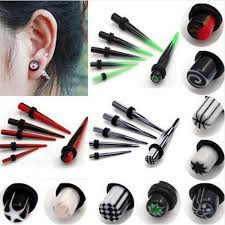 taper gauge kit. wholesale 12pc acrylic ear plug tapers gauge stretching kit piercing expander body jewelry for women men fashion wholesale-in underwear from mother taper