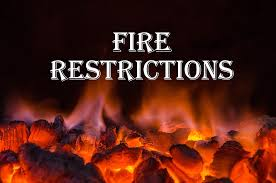 Image result for fire restrictions
