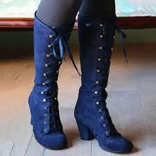 Women <b>Autumn</b>/<b>Winter Elegant</b> Retro Chunky Heel Boots ...