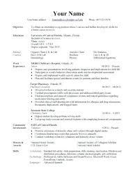 Types Of Resumes Awesome Different Formats Of Resumes Davidkarlsson