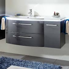 luxury wall hung design lunic 1100 wall hung vanity unit with left handed basin