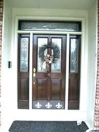 cherry sears screen doors door hardware craftsman storm screens style with monogram handles wood hard