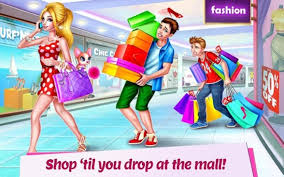 ping mall dress up style game