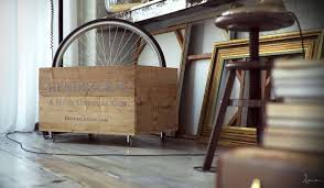 retro style bedroom furniture. interesting bedroom vintage style industrial bedroom furniture ideas come with bicycle wheels  in wooden box retro e