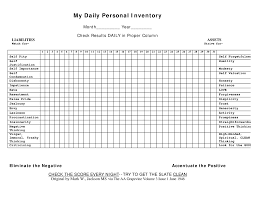 daily inventory sheets daily inventory template personal templates at