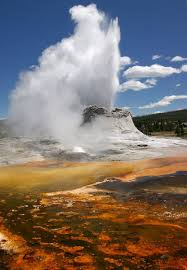 how do geysers form geyser and hot spring the shape of the land forces and changes