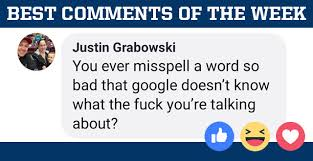 The 10 Best Comments of the Week 4/7