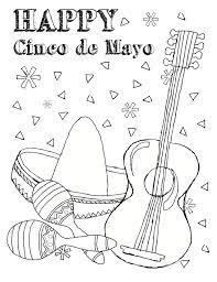 Free Printable Cinco De Mayo Coloring ...