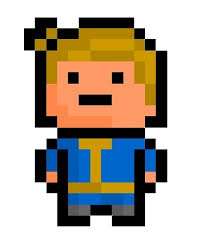 Pixel Character Template Minecraft Fallout Pixel Art Templates Minecraft Pixel Art