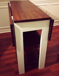 ... DIY Kitchen Island Drop Leaf 2 ...