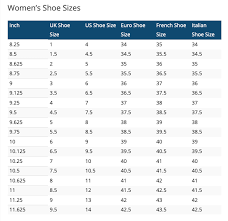 Asian To Us Shoe Size Chart Size Charts Shopfrontline