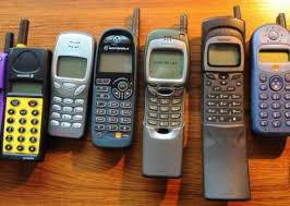 motorola flip phone history. some of michael mould\u0027s older mobiles, dating from around 1999. left, ericsson motorola flip phone history