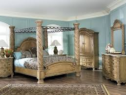 ashley north s canopy bedroom set home design ideas