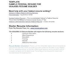 Best Resume Format For Usajobs Resume Sample Source