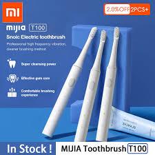 Xiaomi mijia T100 <b>Sonic Electric Toothbrush</b> Adult Waterproof ...