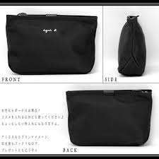 agnes b agnes アニエスベーボヤージュ agnes b voyage agnes b pouch new makeup pouch cozy porch las brand pority ranking word of mouth large