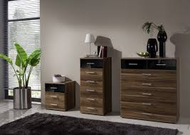 Walnut And Black Gloss Bedroom Furniture  PierPointSpringscom - Black and walnut bedroom furniture