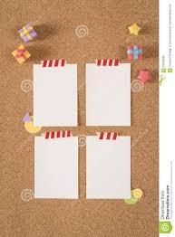 bulletin board design office. Paper Note Template Empty Cork Board Office School Bulletin Design