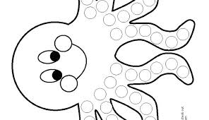 Bingo Dot Art Coloring Pages Dot Art Coloring Pages Bingo Dauber